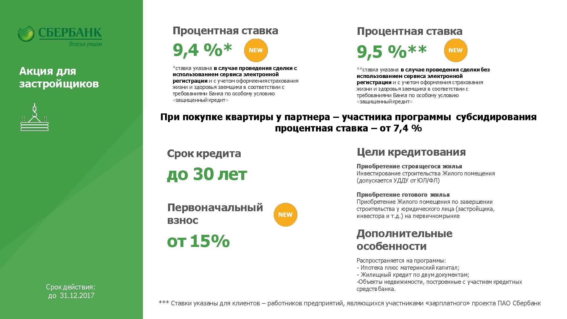 ипотека сбербанк ярославль 2017 условия Дальше идти